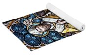 Stained Window Yoga Mat