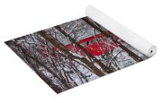 Taftsville Covered Bridge Yoga Mat