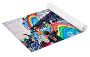 The Spirit Of Mardi Gras Yoga Mat