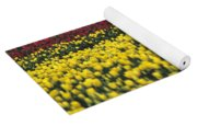 Worker Carrying Tulips Yoga Mat