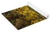 Yellow Leaves Yoga Mat