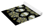 Kaleidoscope Ernst Haeckl Sea Life Series Yoga Mat