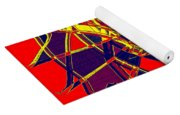1010 Abstract Thought Yoga Mat