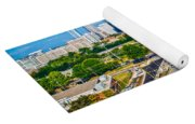 Skyline Of Uptown Charlotte North Carolina Yoga Mat