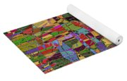 1144 Abstract Thought Yoga Mat