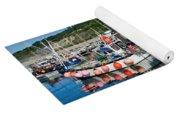 Lyme Regis Harbour Yoga Mat