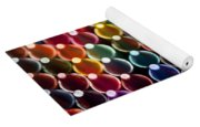 Rows Of Multicolored Crayons  Yoga Mat