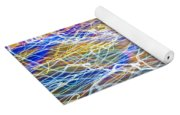 Abstract Background - Citylights At Night Yoga Mat