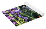 Blue-throated Hummingbird Yoga Mat