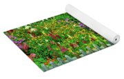 Close-up Of Flowers, Muren, Switzerland Yoga Mat