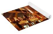 Fremont Street Experience Las Vegas Nv Yoga Mat