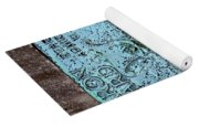 Headstone Abstract Yoga Mat