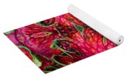 Kaleidoscope Made From An Image Of A Coleus Plant Yoga Mat