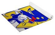 Lichtenstein's Look Mickey Yoga Mat