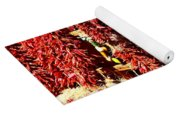 New Mexico Red Chili Ristra And Gralic Yoga Mat