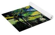 Spring Landscape  Yoga Mat
