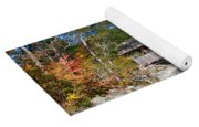 Sunday River Covered Bridge Yoga Mat