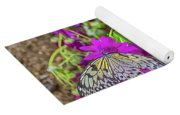 2 Tree Nymph Butterflies Yoga Mat