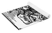 John Wycliffe (1320?-1384) Yoga Mat