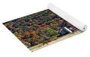 Autumn Farm Yoga Mat