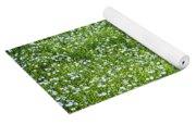 Blooming Flax Field Yoga Mat