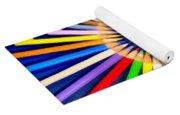 Colorful Pencils Yoga Mat