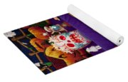 Day Of The Dead Remembrance, Mexico Yoga Mat