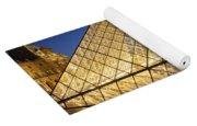 Glass Pyramid Yoga Mat