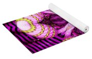 Kaleidoscope Of Blown Glass Yoga Mat