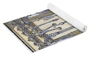 Surgical Instruments Yoga Mat
