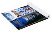 Tonopah Nevada - Clown Motel Yoga Mat