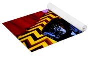 Black Lodge Yoga Mat