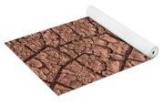Cracked Dry Clay Yoga Mat