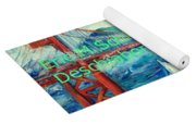 San Francisco Golden Gate Bridge Yoga Mat
