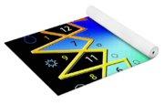 432hz Rainbow Star Yoga Mat