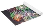 4th Of July Firework Over Charlotte Skyline Yoga Mat