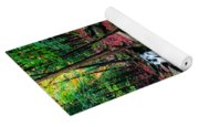 Chesterfield Gorge New Hampshire Yoga Mat