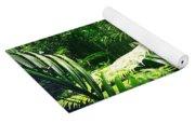Jungle Leaves Yoga Mat
