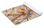 Marble End Paper  Yoga Mat
