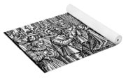 Mary, Queen Of Scots (1542-1587) Yoga Mat