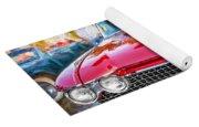 1960 Cadillac Eldorado Biarritz Convertible Painted  Yoga Mat