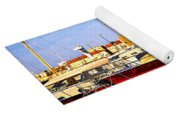 Boats At St.tropez Yoga Mat
