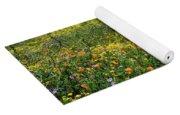 California Poppies Eschscholzia Yoga Mat