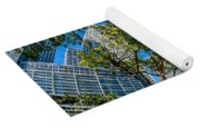 Downtown Miami Brickell Fisheye Yoga Mat