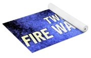 Fire Walk With Me Yoga Mat
