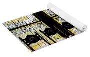 7 Hairs And Stained Glass Db Yoga Mat