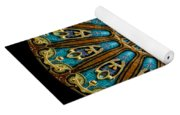 Kaleidoscope Steampunk Series Yoga Mat