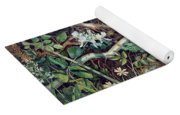 A Birds Nest Among Brambles Yoga Mat