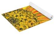 A Burst Of Yellow Yoga Mat