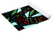 A Fly Of Sorts And Berries Yoga Mat